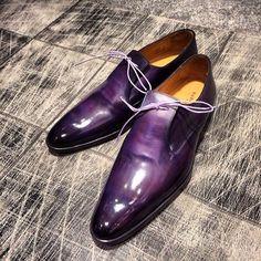 Men's Purple Shoes @PharaohsLegacy