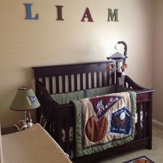 Baby Boy room, kinda plan but I still like it!