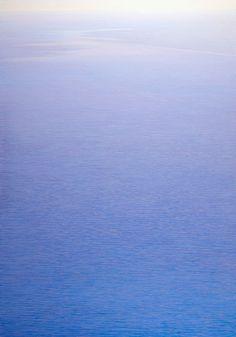 Piero Guccione:  I Movimenti del mare, 2004-05, ost, 150x105 cm