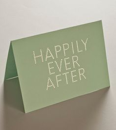 HAPPILY EVER AFTER — Studio Sarah