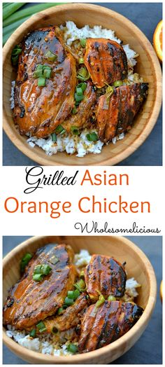 Sticky, salty & sweet, citrus grilled chicken with just the right amount of spice! Fire up your grill for this easy chicken dish!