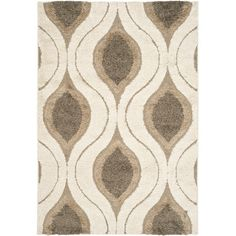 Found it at Wayfair - Florida Shag Cream & Smoke Rug