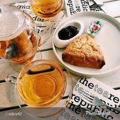 Tea & Scones @ The Tea Republic