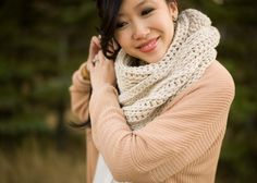 """Here is the official pattern for my """"Triple Luxe Cowl""""!"""