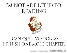 I'm not an addict…