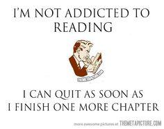 I'm not an addict…