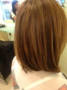 Melena 45 Grados   45 Degree Haircut By TooRed