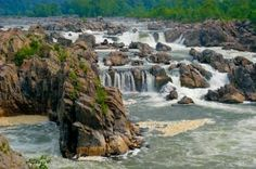 Great Falls, VA- take a hike in the forest or  just view the falls from the overlook.  Head to Katie's for a lox bagel or the pub for a brew.