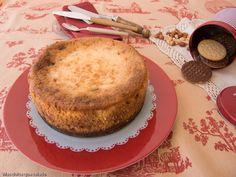 Tarta de queso con Snickers