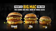 McDonald's Brings Back Mac Jr. and Grand Mac!