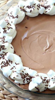 chocolate marshmellow pie