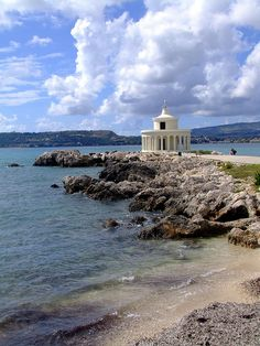 Lighthouse of Argostoli . Greece