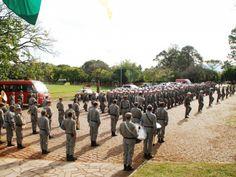 Brigada Militar inicia treinamento de novos 222 policiais militares