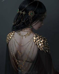 Post with 6462 votes and 236757 views. Tagged with art, fantasy, scifi; Shared by Afrigurian. Neat Fantasy/Sci-fi Art by WLOP Character Inspiration, Character Art, Design Inspiration, Costume Design, Ideias Fashion, Fairy Tales, Creations, Drawings, Boho