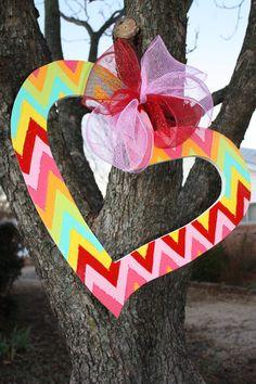 Valentines Door Hanger by SouthernDoor on Etsy