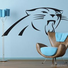 Hey, I found this really awesome Etsy listing at https://www.etsy.com/listing/220402727/carolina-panthers-nfl-decal-nfl-decor