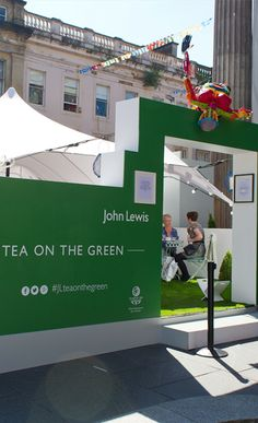 Great idea for taking a brand out of the four walls.