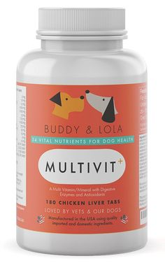 Best Senior Dog Vitamins Supplement – no. 1 Multivitamin for Nutrients, Calcium, Digestive Enzymes and Antioxidants – Chicken Liver Taste Chewable Tablets – Ideal for Dogs of All Ages *** To view further, visit now(This is an affiliate link and I receive a commission for the sales) : Dog supplies