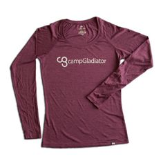 Camp Gladiator Cory Vines Long Sleeve Women's Athletic Gear, Shirt Ideas, Vines, Camping, Workout, Long Sleeve, Sweaters, Mens Tops, Shirts