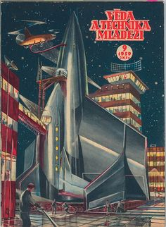 1959 Space Pulp Cover