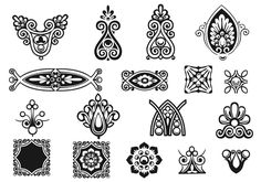 Victorian Ornament Brushes Pack