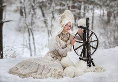 Winter yarn ~~ Photography by Margarita Kareva