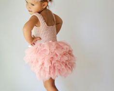 Ankle Length Double Layered Puffy Tutu Dress. Any by AylinkaShop