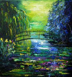 Obra de arte favorita…  cualquiera de la era Impresionista After Monet Painting  - After Monet Fine Art Print