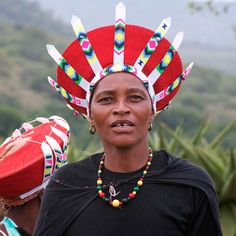 Related image Zulu Wedding, Zulu Women, African Image, Africa People, Xhosa, African Masks, African Fabric, Tribal Art, Traditional Wedding