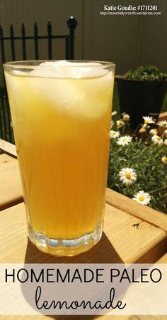 10 Uses for Lemon Essential Oil plus Homemade Paleo Lemonade!