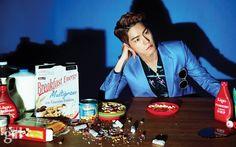Hong Jong Hyun in Vogue Girl Korea May 2015 Look 1