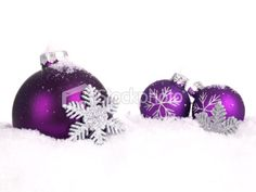 purple christmas images - Google Search