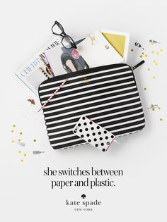 featuring the fairmont stripe, le pavillion iphone 6 case, dot the I's pencil set, rebecca glasses, snail mail card set, and bow paper clips. #getgifted