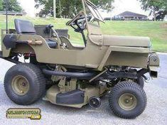 Redneck Jeep lawnmower