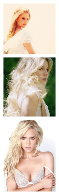 """""""Veela"""" by beatgoeskristen ❤ liked on Polyvore featuring dianna agron, people, models, blondes, celebrities, girls, kristen bell, faces, brittany snow and pictures"""