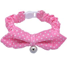 Breakaway Elastic Bowtie Cat Collar with Reflective Bell,Cute Cloth Safety Collars for Kitty by Mihachi,Neck 8'-12' >>> Click on the image for additional details. (This is an affiliate link and I receive a commission for the sales)