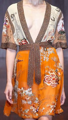 Robe // Gucci Spring 2015
