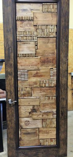 Wine room door transforming by Emmanuel Design Group