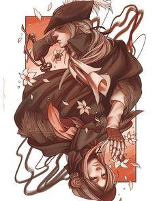 Our Lady Maria. #bloodborne #ladymaria #doll #fanart #photoshop #digitalart #illustration #cardart #darksouls