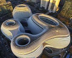 Galaxy SOHO, Zaha Hadid, Beijing, China, 2009-2012