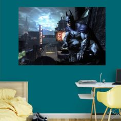 Fathead Batman Arkham City Wall Mural - 96-96054