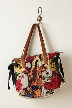 Stitched Deer Tote | Anthropologie.eu