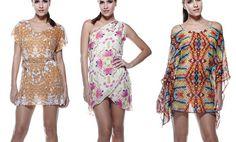 MOS Beachwear, marca brasileira de biquinis, vestidos, maiôs e saídas de praia presente em Portugal, com peças sofisticadas e elegantes.