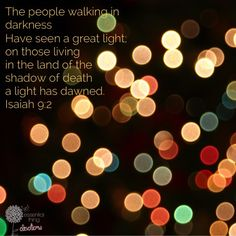 Light of the World - Gifts of Christmas - Essential Thing Devotions Christmas Devotions, Isaiah 1, Light Of The World, Daily Devotional, Christmas Lights, Prayers, Gifts, Christmas Fairy Lights, Presents