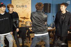 Hyunsik, Eukwang, Changsub, Ilhoon, BTOB THE BEAT Episode 6.