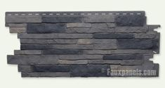Nailon Stone Wall Plus Lewiston Crest Panel - W 44 - H 19 - Thick OOOH! I found the siding the BF suggested - LOVE IT! Doing a high feature wall with this stuff: Nailon Faux Stone Wall Siding Plus