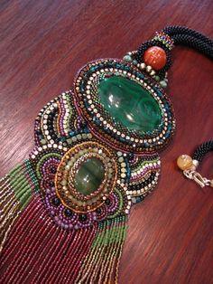 La regina di bellezza della tribù collana di ARTSTUDIO51 su Etsy