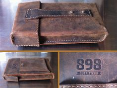 custom leather cigar case  by M. Brady Clark