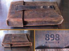 custom leather cigar case by M. Brady Clark