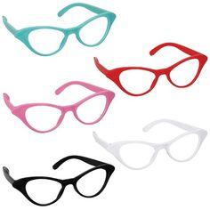 Classic 50s Cat Style Glasses 10ct